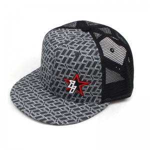 ii Star Logo Flat Bill Snap Back