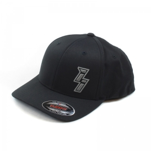 Black Flexfit ii Logo Hat XXL